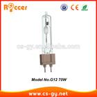 Long life HID Metal Halide Lamp Tubular CDM-T G12 70w