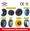 flat free tire 4.00-8 wheel barrow wheel rubber wheel skate