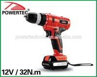 POWERTEC 12V Li-ion Mini Cordless Drill 10mm DC Drill