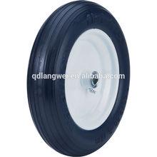 flat free tire 4.00-8 wheel barrow wheel hard rubber wheels