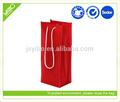 Eco& reciclables a granel bolsa de vino reutilizables bolsos