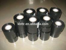 Black hot ink roller hot stamping foil for PET, PVC,PP, OPP Film PAPER