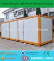 tuv rheinland rápida instalação de baixo custo recipiente modular casa