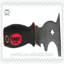 KEN5335480K Double Color Handle Stainless Steel Scraper