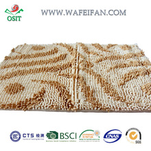 innovative chenille bath and bedroom mat