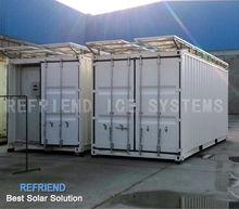 Solar Power Container Freezer