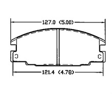 D363 16 05 825 1605827 1605916 for Opel Vauxhall remsa brake pads