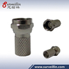 CCTV Security f-type connector nickel plated