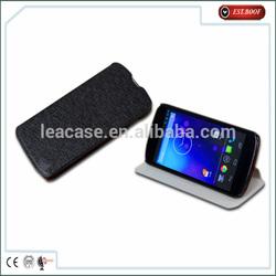 Hot selling mobile phone case for LG E960/Nexus 4, leather case for LG E960/Nexus 4, phone accessories for LG Google nexus4