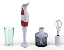 300W new design electric hand blender set with plastic rod chooper beaker whisk HG7702Set