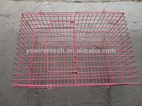 Pink rabbit cage