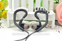 Hot sell sports earphones K6 3.5mm mic volume control mobile phone earphone