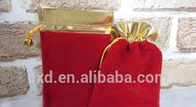velvet drawstring bags / velvet gift bag /velevt jewelry pouch