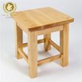 China cedro macizo de madera baratos taburete de la cocina, taburete bajo