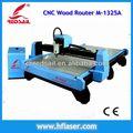 Alta precisão cnc madeira compensada 18mm/madeira cortando máquinas m-1325a