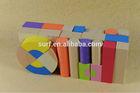 eva foam creative building block toys for child