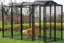 China supplier high quality chain link dog kennel (ISO Factory)