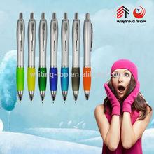 2014 good quality plastic wholesale engraved plastic ballpoint pens
