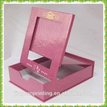 Beautiful foldable pink photo frame/ photo frame box