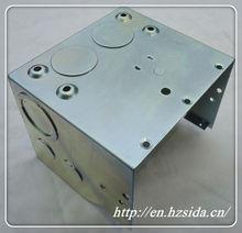 metal stamping small aluminum box