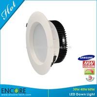 Beam angle 90 factory price samsung led recessed wall light rectangular