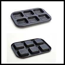 Pass SGS mini cupcake baking tray with high quality