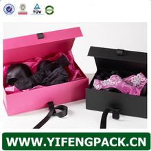 hight quality custom design cardboard lingerie packaging box wholesale