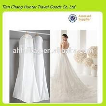 wholesale cheap nonwoven wedding dress garment bag