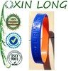 High quality wrist band segment colors Silicone bracelet with debossed logo