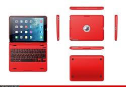 360 Degree Rotation Keyboard Wireless Bluetooth Keyboard for Ipad Air iPad 5