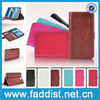 For Samsung note 2 phone case with wallet stand and card holder