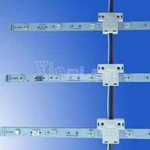 quick flex single led light sheet billboard installation