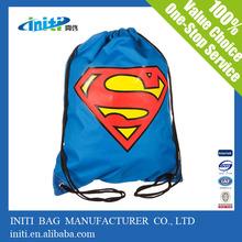 2015 Alibaba china hot sale nylon drawstring laundry bag with custom logo