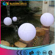 LED illuminated with wireless remote ball