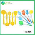 Chinese melhor grau alimentício coloridas de nomes de cozinha espátula ferramentas