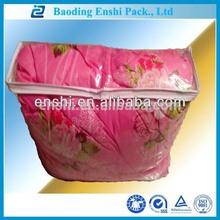 high quality pvc soft bag for summer quilt storage