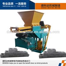 DK1-40 manual press brick making machine for concrete brick with hydraulic pressing method