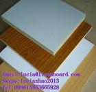 Wood Grain Melamine plywood , Plain colour melamine board 16mm 18mm