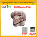 2014 caliente venta personalizada de gel tienda de sexos materiales alfombrilla de ratón