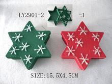 fashion Christmas glitter Christmas star box
