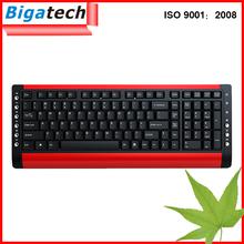 2.4G Computer Ergonomic wireless keyboard usb
