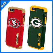 major league baseball mlb hard cover mobile phone case for iphone 5(OBS-PG-SL53009)
