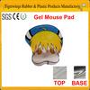2014 hot sale custom gel sex cartoon animation mouse pad