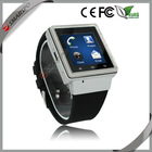 Factory wholesale best price unisex touch screen china android wifi 3g with sim card watch phone with skype