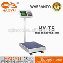 Ventas de la fábrica directamente recargable 4 V de cálculo de precios banco balanzas electrónicas