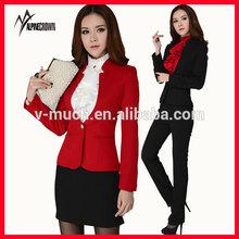 long sleeve skirt suit, business suit, indian women business suit