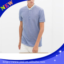 2014 new style polo shirt stone wash made in china