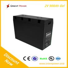 2V 900ah gel battery for inverter ups system