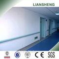 Pvc hospital corredor corrimão