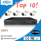 China top ten selling products 4Channel Digital WiFi Wireless 1080P HD IP cctv camera kit